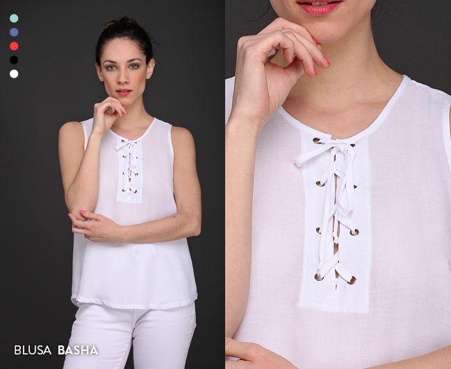Alta tendencia: la Blusa Basha tiene cartera con tiras cruzadas y viene en 5 colores de temporada. ¡Pedila! #Tendencias