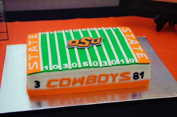Oklahoma State themed Grooms cake  OSU Graduation  ~ 152910_Birthday Party Ideas Okc