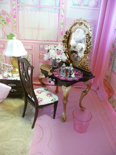 OOAK Barbie Bedroom diorama. The 25  best Barbie bedroom ideas on Pinterest   Barbie room  Pink
