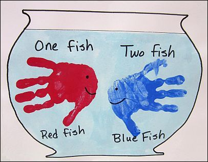 one fish two fish, red fish blue fish
