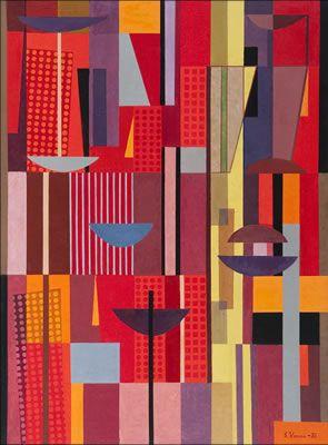 Sam Vanni: Ovi on vielä raollaan, 1982 - Fine Art Prices, Auction Records for Sam Vanni