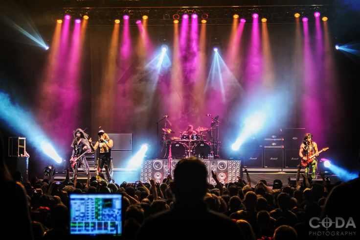 Steel Panther concert at Stage AE in Pittsburgh, PA