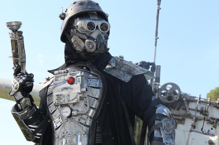 Dieselpunk Soldier Dieselpunk: armored so...