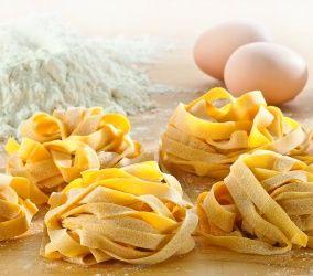 Italian food - Tagliatelle pasta