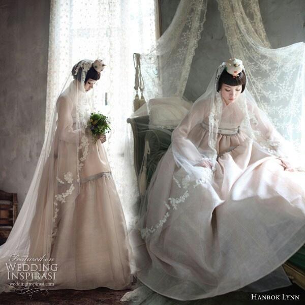 Hanbok wedding gown