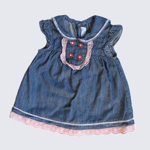 Vestido azul Mayoral