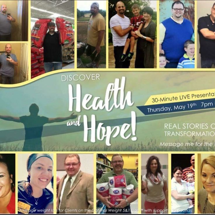 Tonight we have Discover Health & Hope Zoom Video Conference Call at 8:pm EST. It's a 30 minute call and we go through everything about the Optimal Health 5&1 Program.   Discover Health & Hope Zoom happening THIS THURSDAY NIGHT (May 19th) at 5:00pm Pacific / 7:00 pm Central / 8:00 pm Eastern.  We have an incredible line-up of real & raw stories, and a presentation of this life-changing program!! If you would like the link let me message me ASAP and I can send it to you.