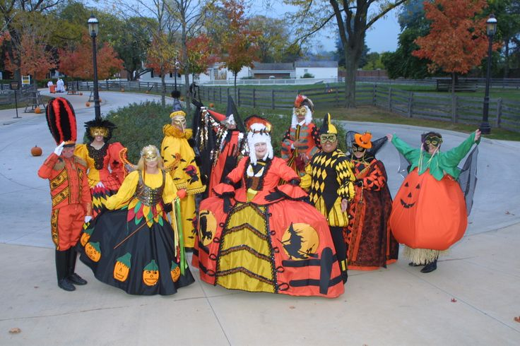 Halloween Revelers at Greenfield Village