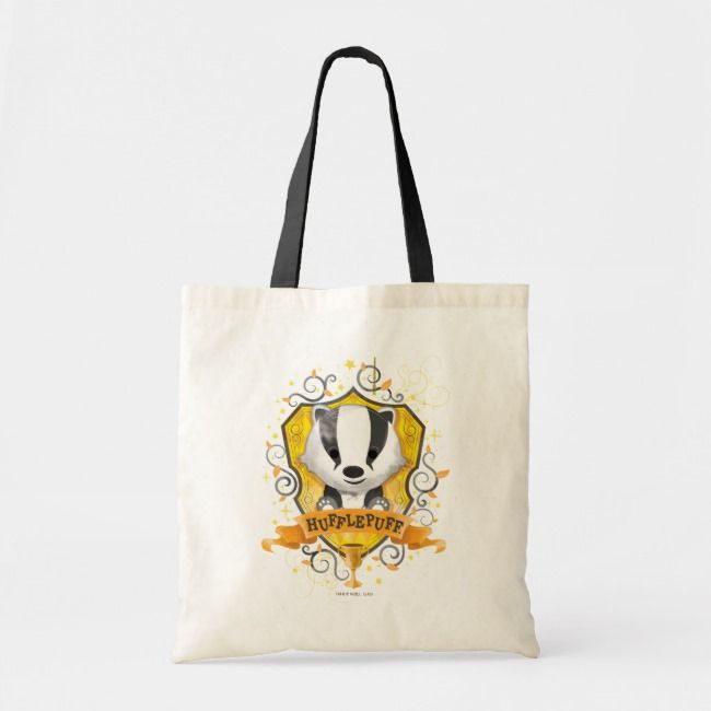 Harry Potter Hufflepuff Trick or Treat Tote Bag