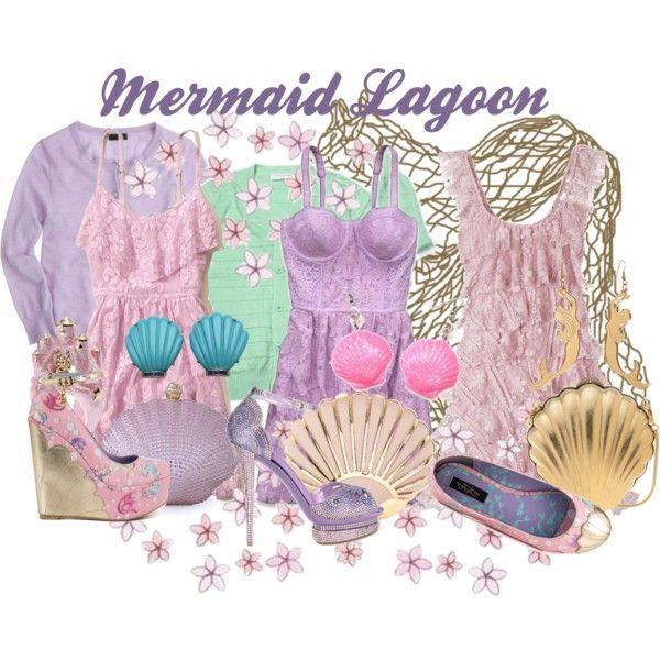 """""""Mermaids ~ Mermaid Lagoon"""" by liesle on Polyvore"""