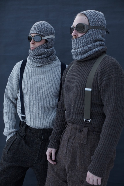"""Nigel Cabourn AW12 COLLECTION - """"I am just going outside and may be some time."""""""