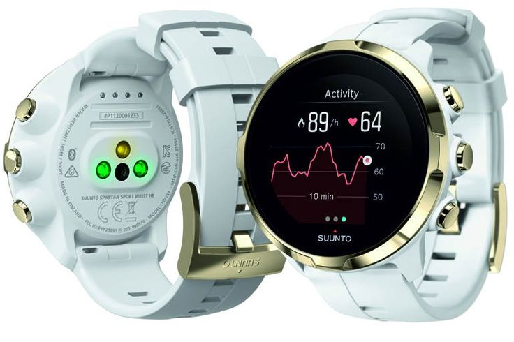 Špičkové sportovní hodinky SUUNTO s měřením tepu - Suunto Spartan Sport Wrist HR GOLD