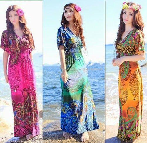 bohemian summer fashion