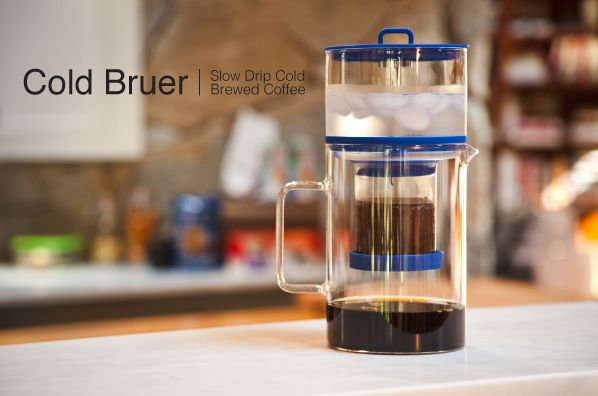 slow drip cold brewer