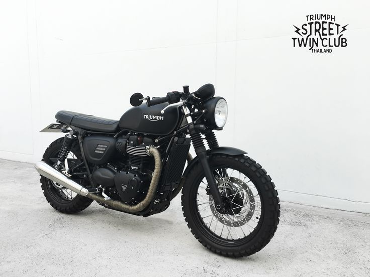Triumph Street Twin Cafe