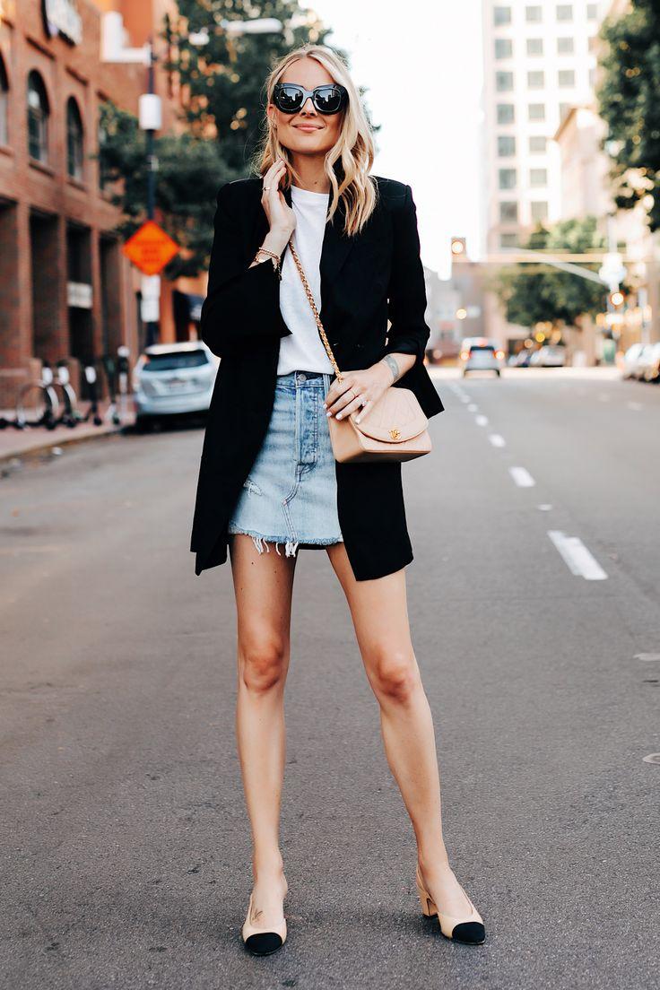 Fashion Jackson | A Stylish Way to Wear a Denim Sk…