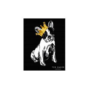 Ted Baker black dog pattern #splashback #TedBaker #tiles #kitchen #interiors