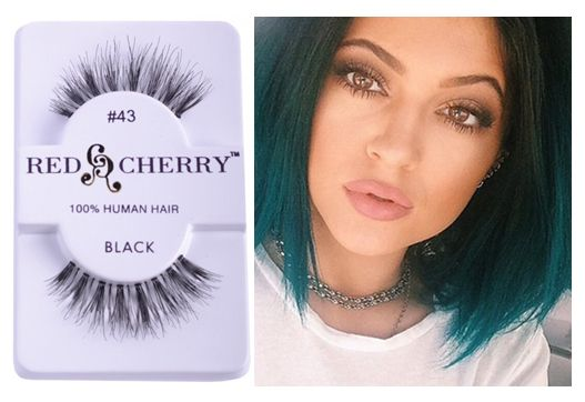 Go for Red Cherry's luxurious No.3 for a Kylie Jenner look for  long, natural and wispy lash look (www.MadameMadeline.com). #RedCherry43 #MadameMadelineLashes