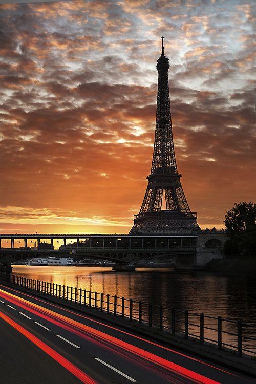 La luz natural de París.