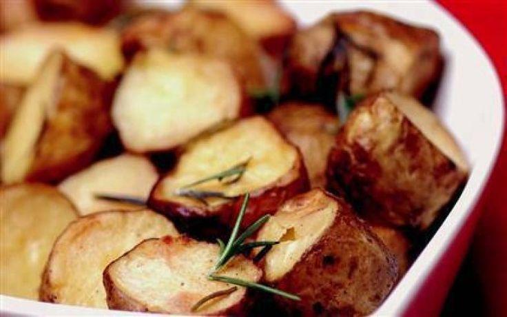Fırınlanmış Kabuklu Patates
