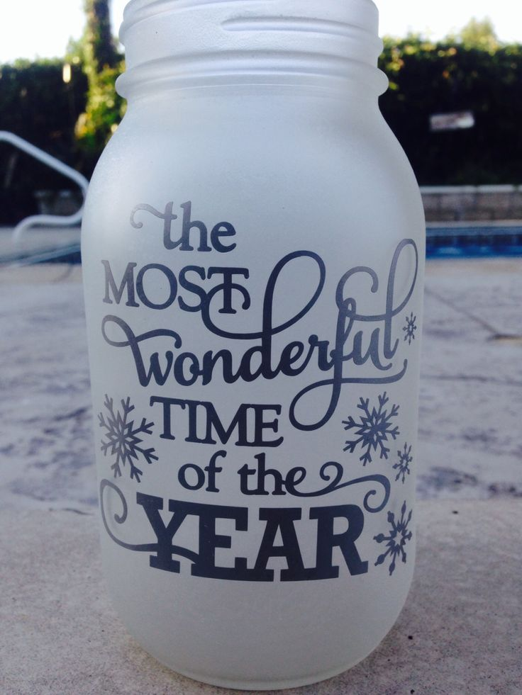 It's the most wonderful time of the year Mason Jar Order yours today!!!