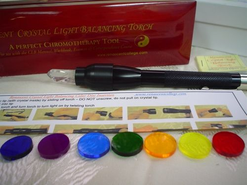 Crystal Light Balancing - a wonderful colour therapy tool and correspondence course