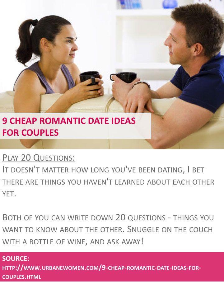 inexpensive romantic dates