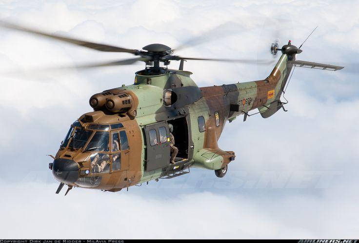 Spanish Army (Ejército de Tierra) Eurocopter AS-532UL Cougar