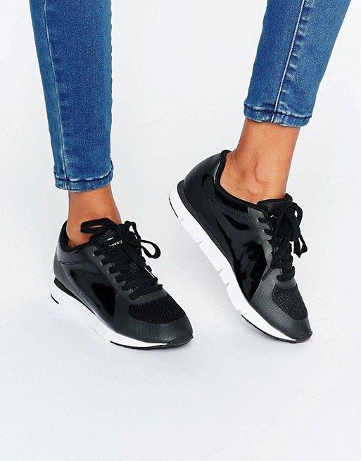 Calvin Klein   Calvin Klein Jeans Tilly Black Trainers