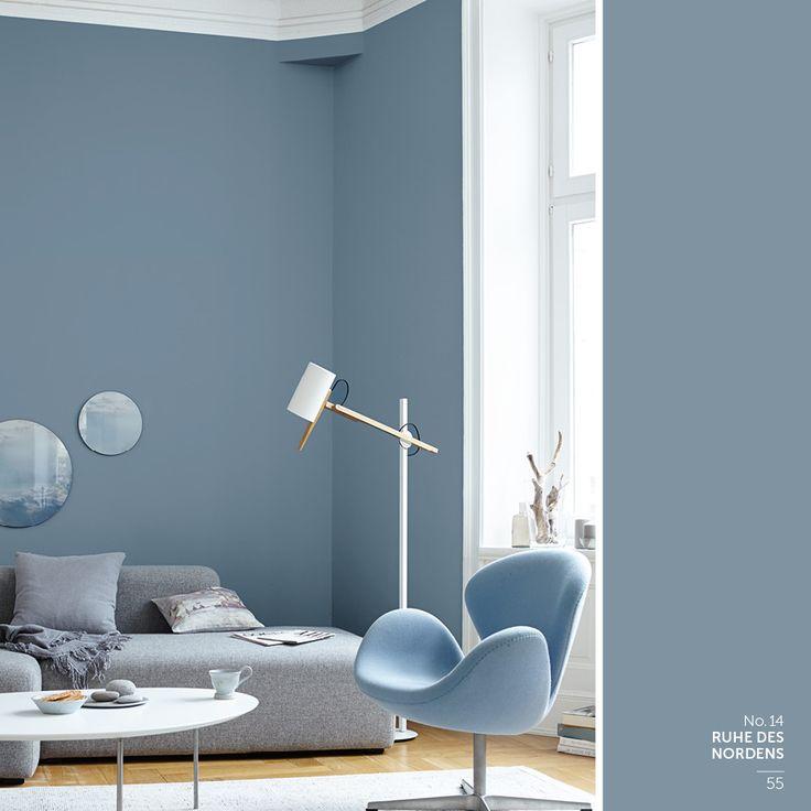 Die besten 25 Wandfarbe schlafzimmer Ideen auf Pinterest  Wandfarbe Wandfarbe wohnzimmer und