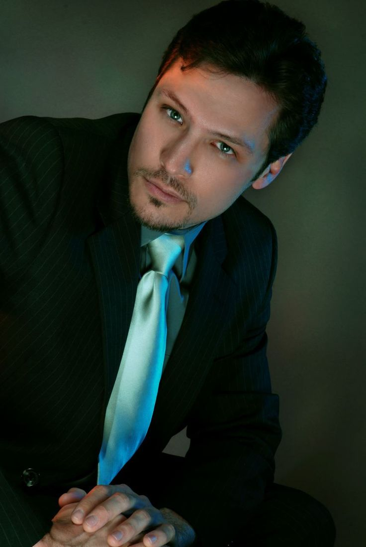 Nick Wechsler, and look he already has the tie on! Christian Grey?