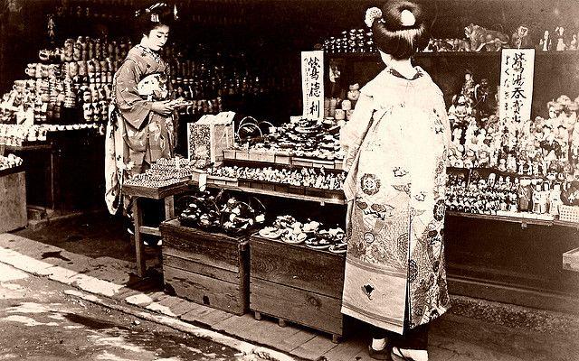 Souvenir Store - Kyoto 1920s - Blue Ruin 1