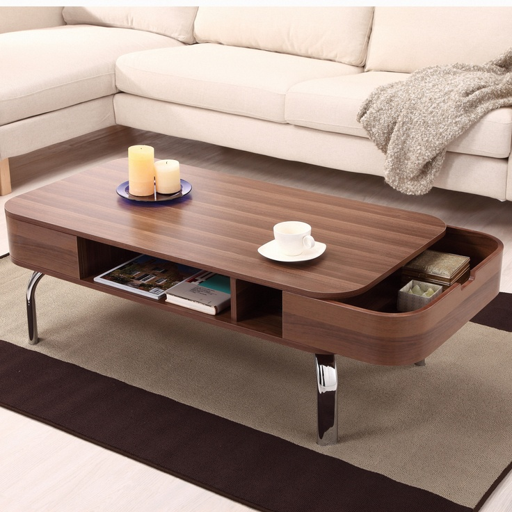 Hokku Designs Lawson Coffee Table in Glossy