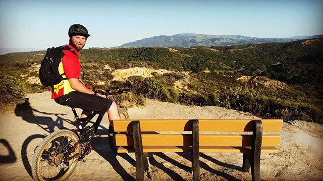 Watch out for that big red and yellow jersey coming barreling down the trail! #fortord #toro #heatwave #specialized #enduro #kylesbench #marinalocals #montereybaylocals - posted by Kevin Pelley https://www.instagram.com/kevinpelley - See more of Marina, CA at http://marinalocals.com