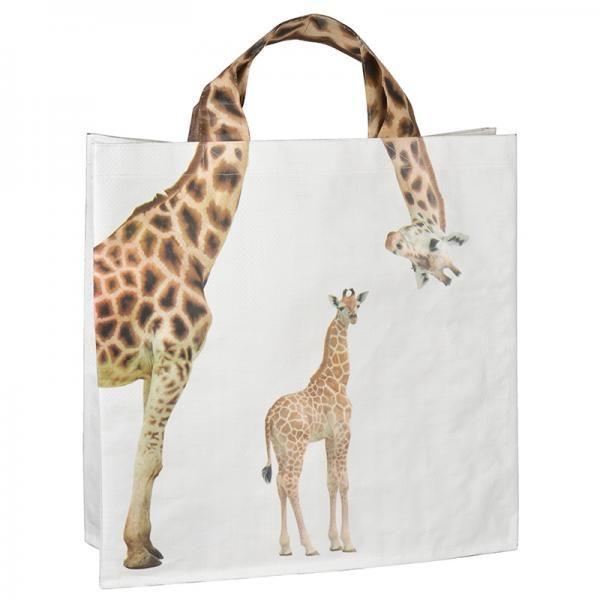 #giraffe #zsiráf #shopping #bag #creative #funny #kreatív #zsiráfostáska