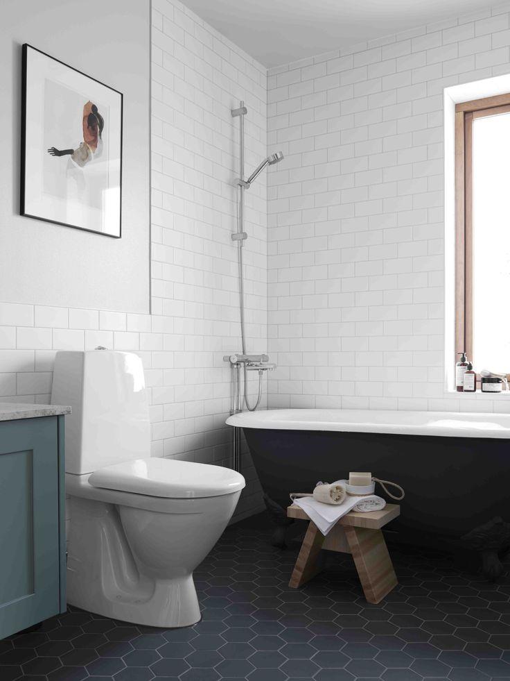 Interior Inspiration from BLOOC - NordicDesign. Ganska tidlösa vackra materialval och val av porslin, badkar etc.