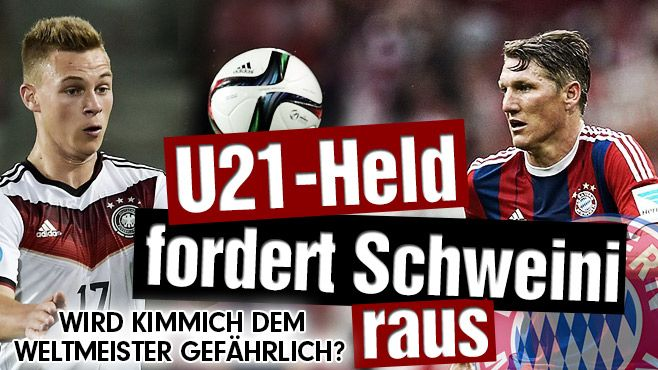 Schweini+Kimmich:http://www.bild.de/sport/fussball/joshua-kimmich/u21-held-fordert-schweinsteiger-raus-41447898.bild.html '#Schweini' SoundsLike #Schwein/pig,#Kimmich in fact w/ astro #lucky #pig lol http://www.bayerncentral.com/2015/06/kimmich-stars-as-u-21-germany-roll-denmark/ #pig:#Robben+#Ribéry+#Kimmich++;#snake:Dost+T.Müller+Badstuber+Kroos+Reus+Aubameyang+Kagawa+Gale++,#scorpio:Schürrle+Lahm+Rooney+Pele+Maradona+Figo+G.Müller+UweSeeler++