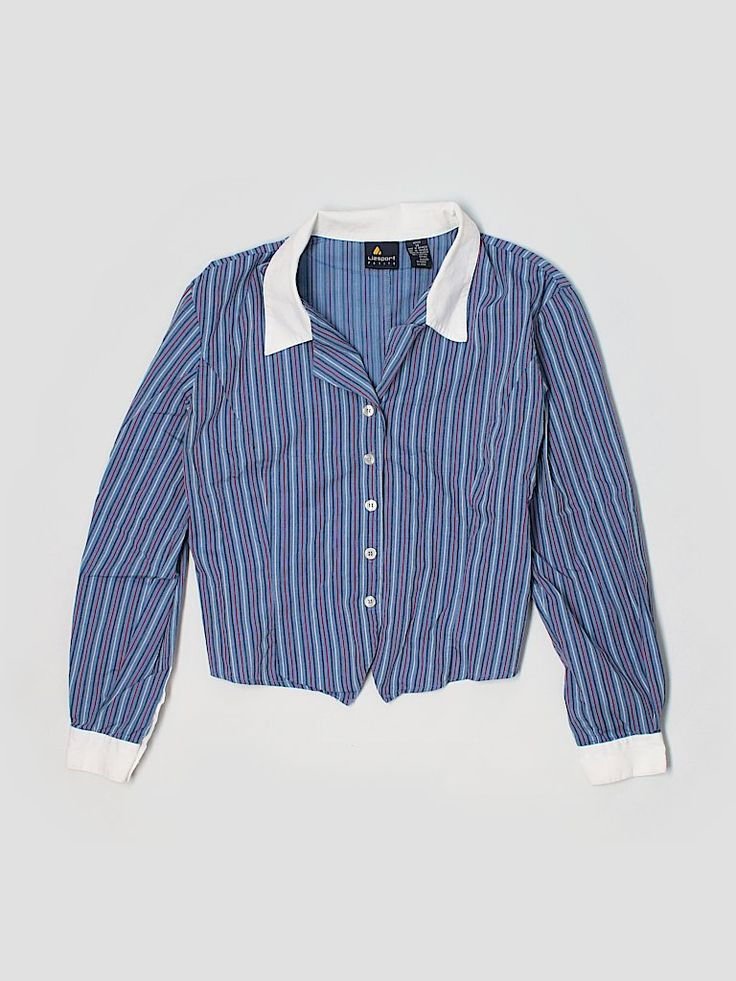 Check it out—Lizsport Long Sleeve Button-Down Shirt for $6.99 at thredUP!