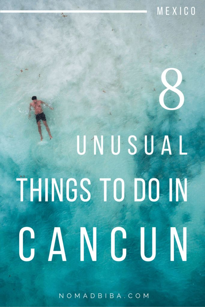 Unusual Things to Do in Cancun | Cancun Travel Tips | Mexico Travel Tips | Things to Do in Cancun | Things to Do in Mexico | Cancun Vacation | Cancun Excursions | Cancun Honeymoon | Spring Break in Cancun | Cancun Wedding | Cancun Trip | What to Do in Cancun