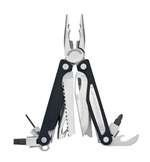 Leatherman Charge ALX Multi-Tool, Stainless Steel with Needlenose Pliers Head & 18 Components with Leather Sheath, Closed Length 4""
