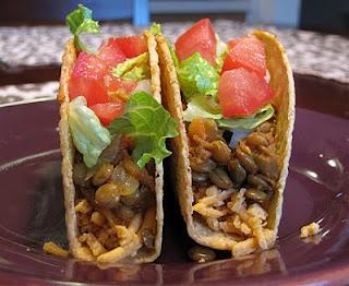 Spicy Lentil Tacos/Nachos   Tasty Treats   Pinterest