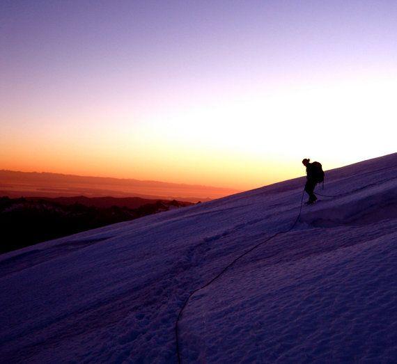 Descending Koma Kulshan  35mm Film Photography by JenneMooreFilm