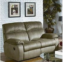 Daydreamer Double Reclining Loveseat - Sage