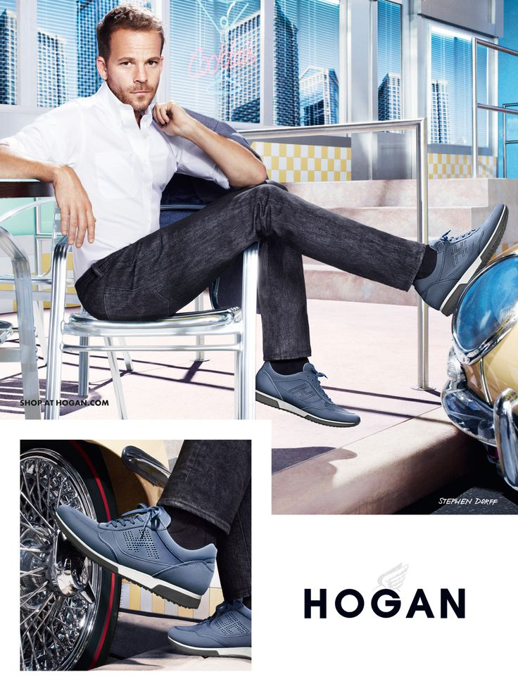#HOGAN Men's Spring - Summer 2013 ‎#collection, for laid-back ‎#elegance, all summer long: nubuck ‎#sneakers H198.