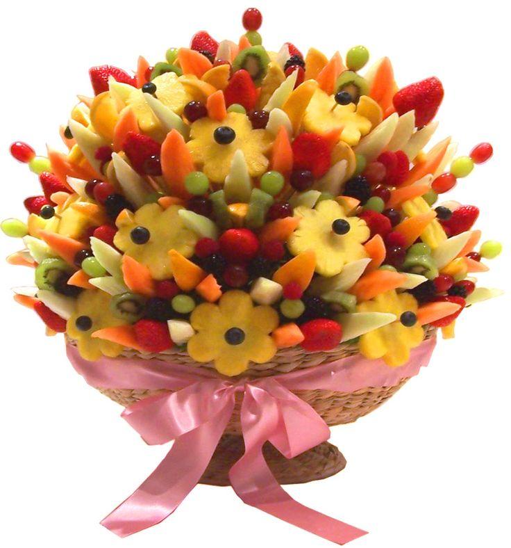52 best FRUIT BOUQUETT images on Pinterest | Edible bouquets, Edible ...