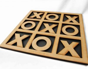 """Why not turn """"noughts and crosses"""" into """"hugs and kisses"""" this Valentine's Day with our Tic Tac Toe Wooden Game!Shop @ www.wave2africa.com"""
