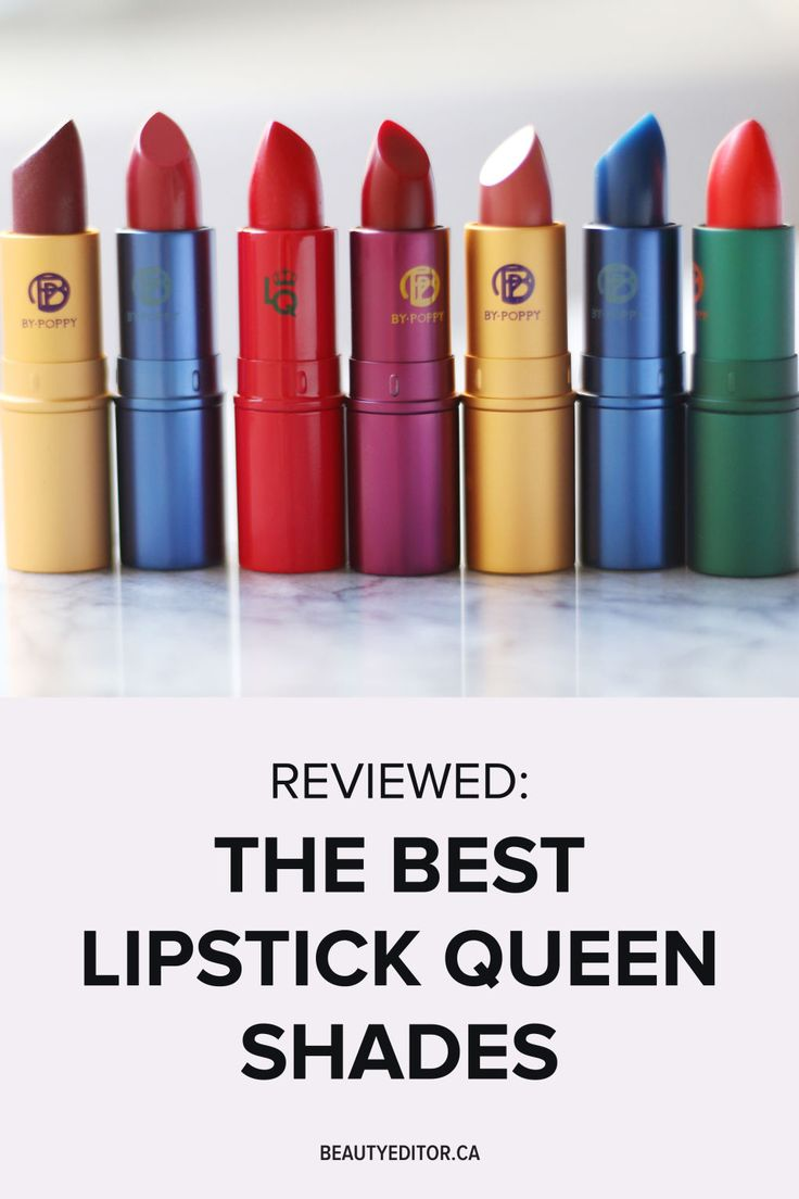 7 of the Best Lipstick Queen Shades | Beautyeditor