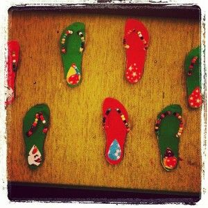 slippers craft idea for kids (14)