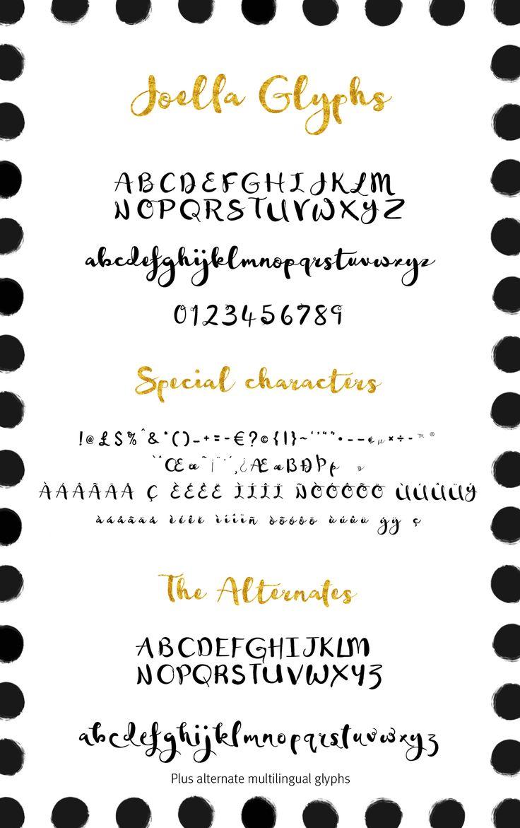 the 25 best brush script ideas on pinterest hand script font
