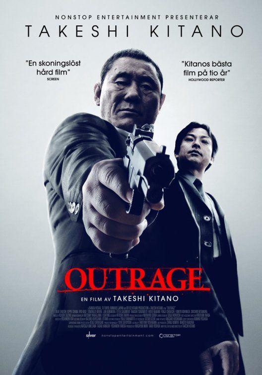 http://jfdb.jp/en/title/2214 Outrage | One Sheet | Norway | #Kitano #TakeshiKitano